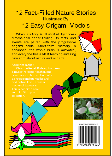 Storigami book Nature Fold Along Stories Quick and Easy Origami Tales About Plants and Animals by Christine Petrell Kallevig
