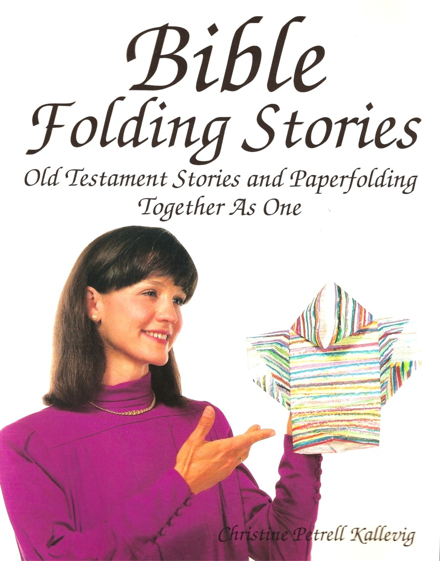 Bible Origami Book by Christine Petrell Kallevig